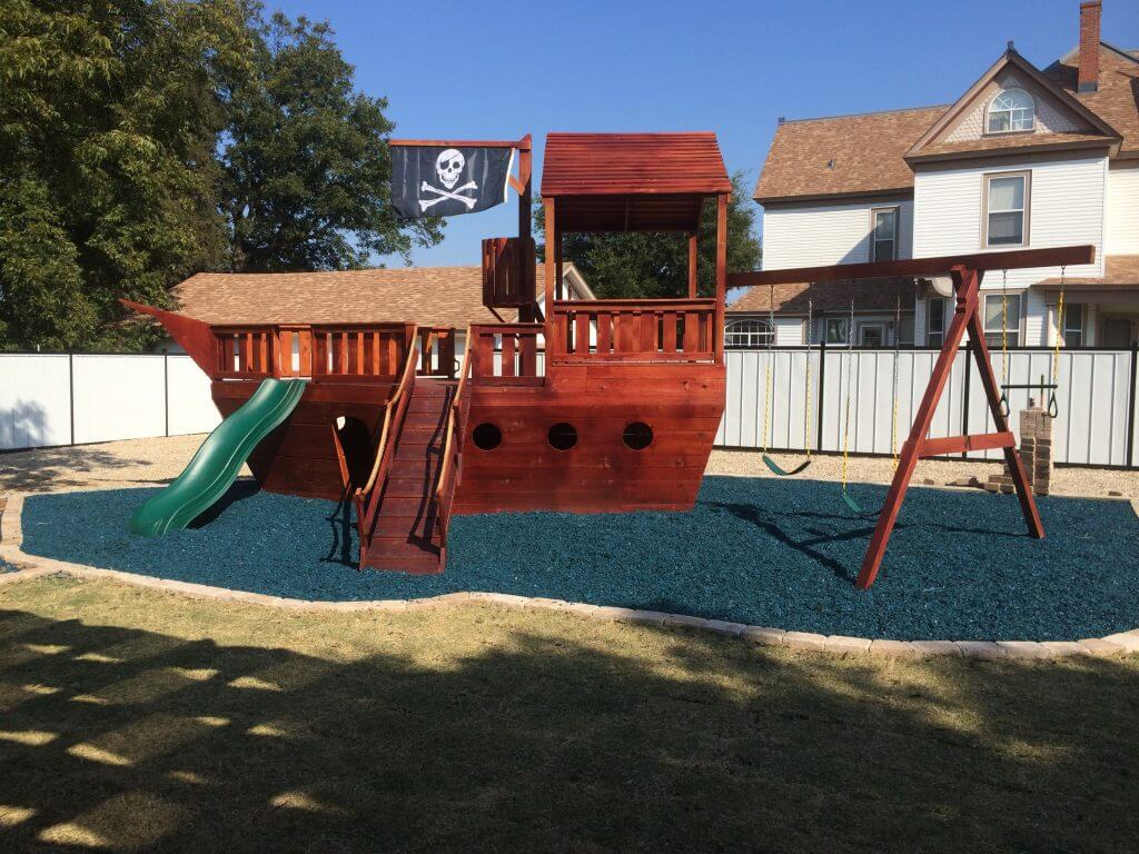 Pirate Playships Set Sail In Your Own Back Yard